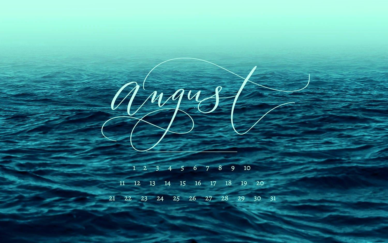 August 2019 Calendar Desktop