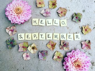 Hello September Floral Images
