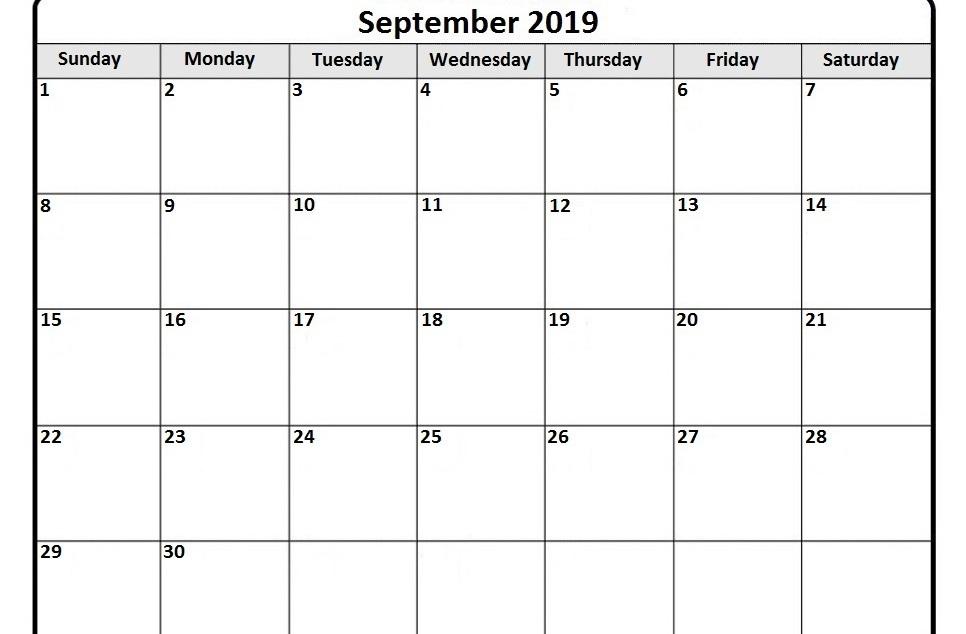 Moon Calendar for September 2019 | September 2019 Lunar Calendar