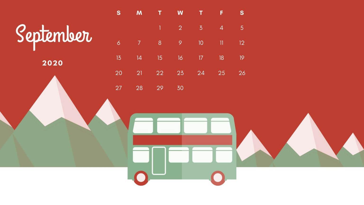 September 2020 Best Calendar