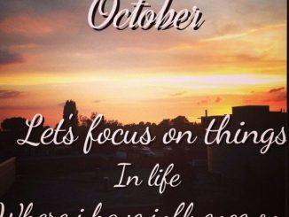 Birthday Quotes for the month of October