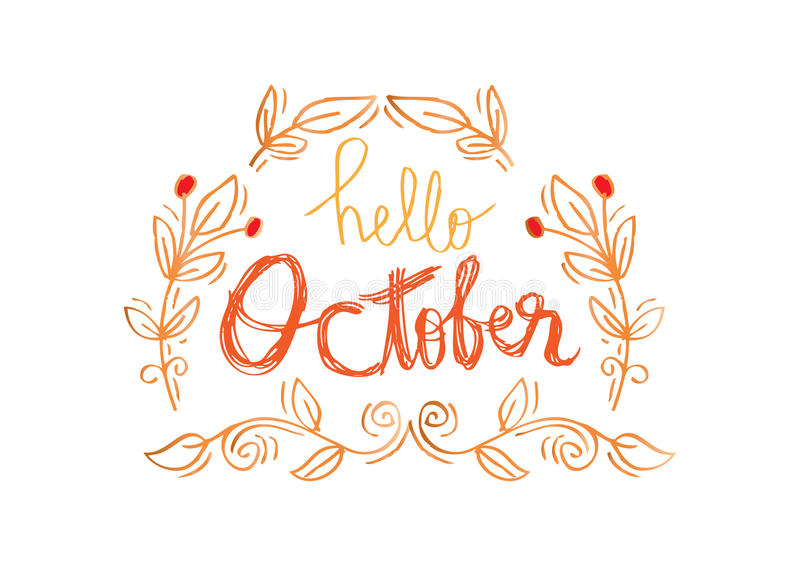 Hello October Pictures Free Download