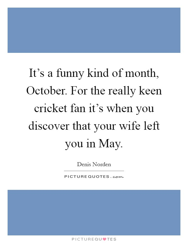 Month Of October Sayings and Quotes