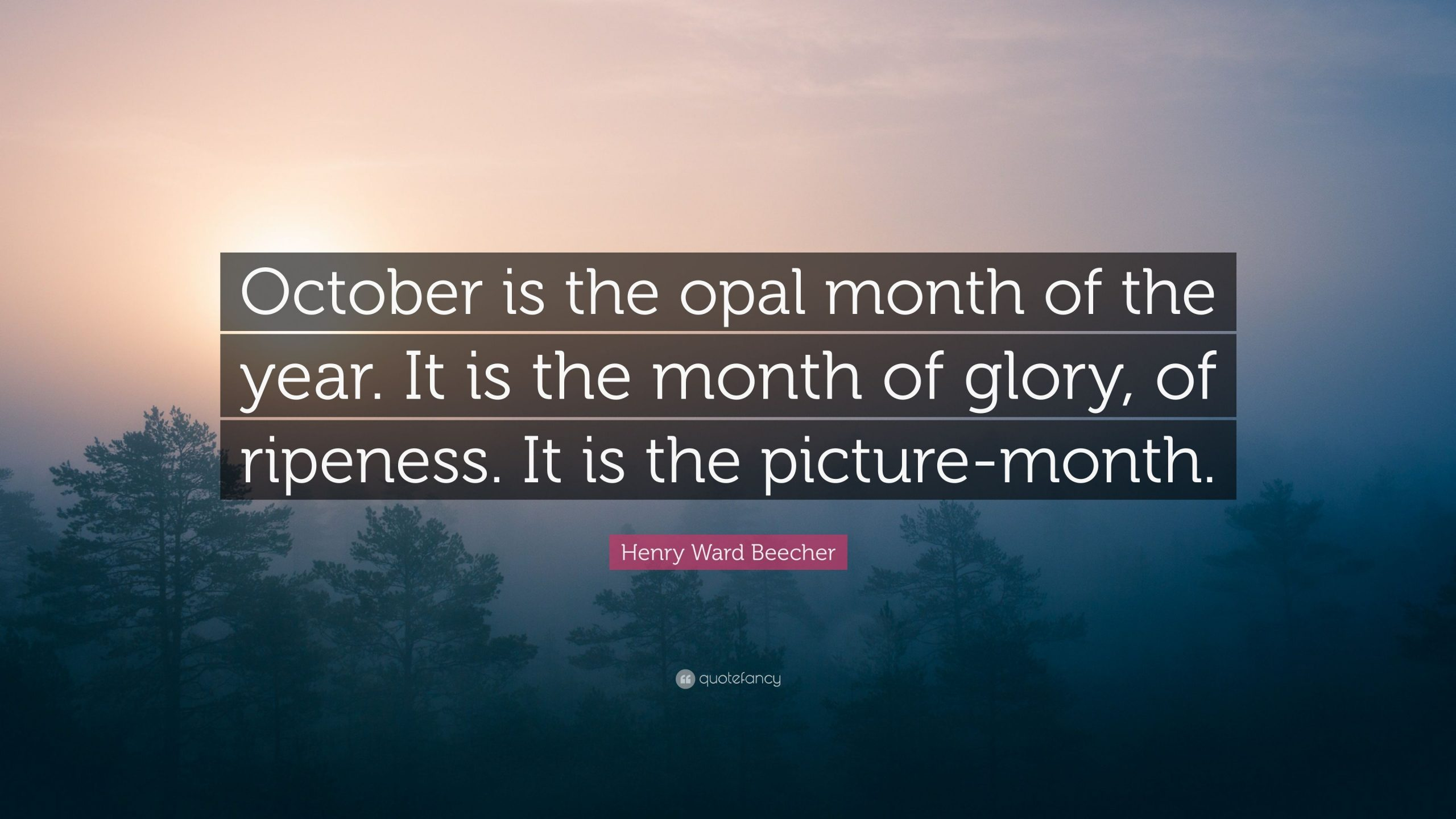 Quotes For October Month on Tumblr