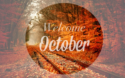 Welcome October Images Download
