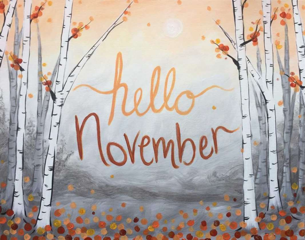 Hello November Wallpaper