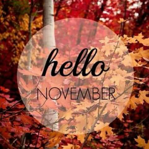 November Images Quotes