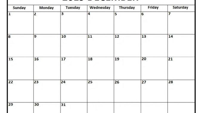 Printable December Calendar 2019 Moon Phases