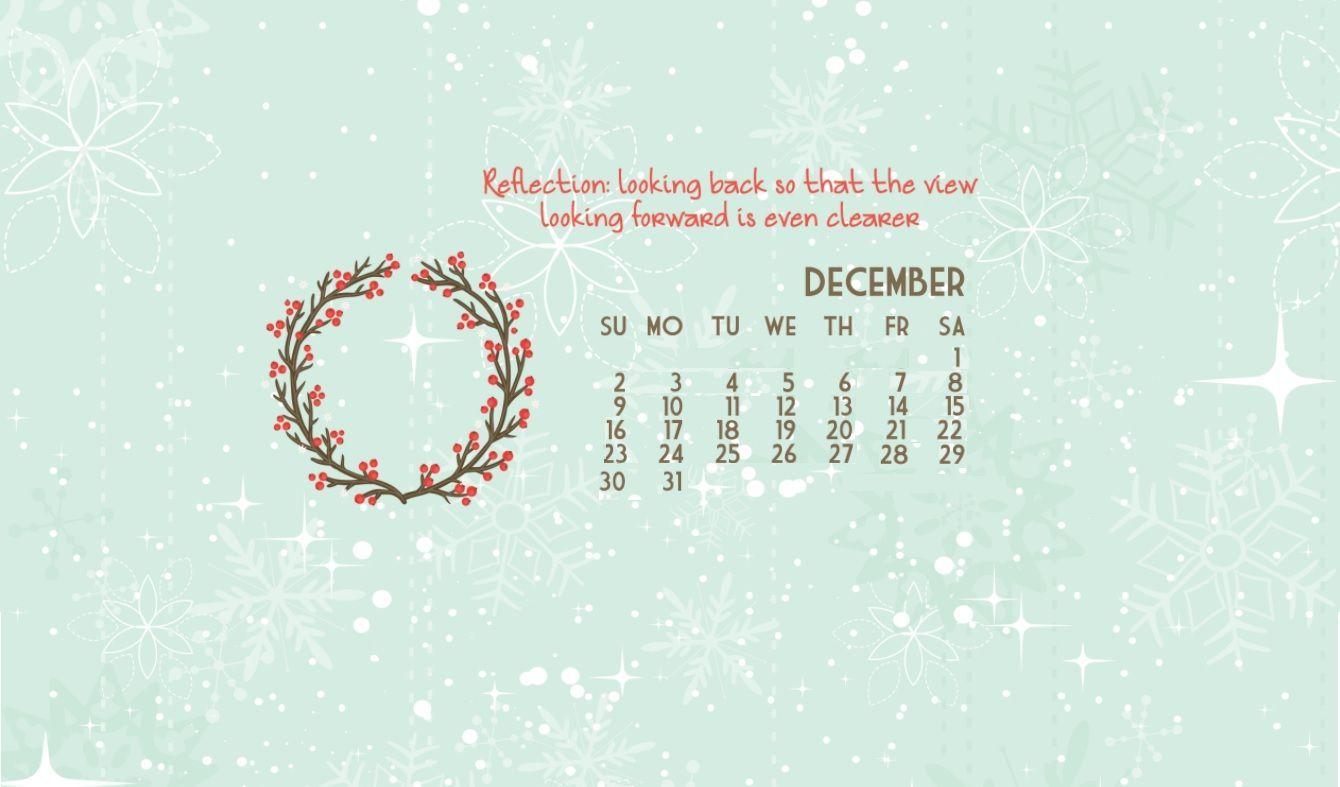 December 2019 Calendar Wallpaper