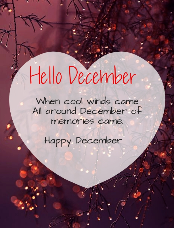 Hello December Wallpaper