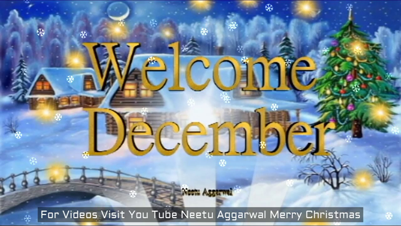 Welcome December Images and Pictures