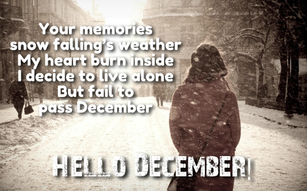 Welcome December Pictures