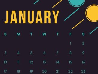 iPhone January 2021 Calendar Wallpaper