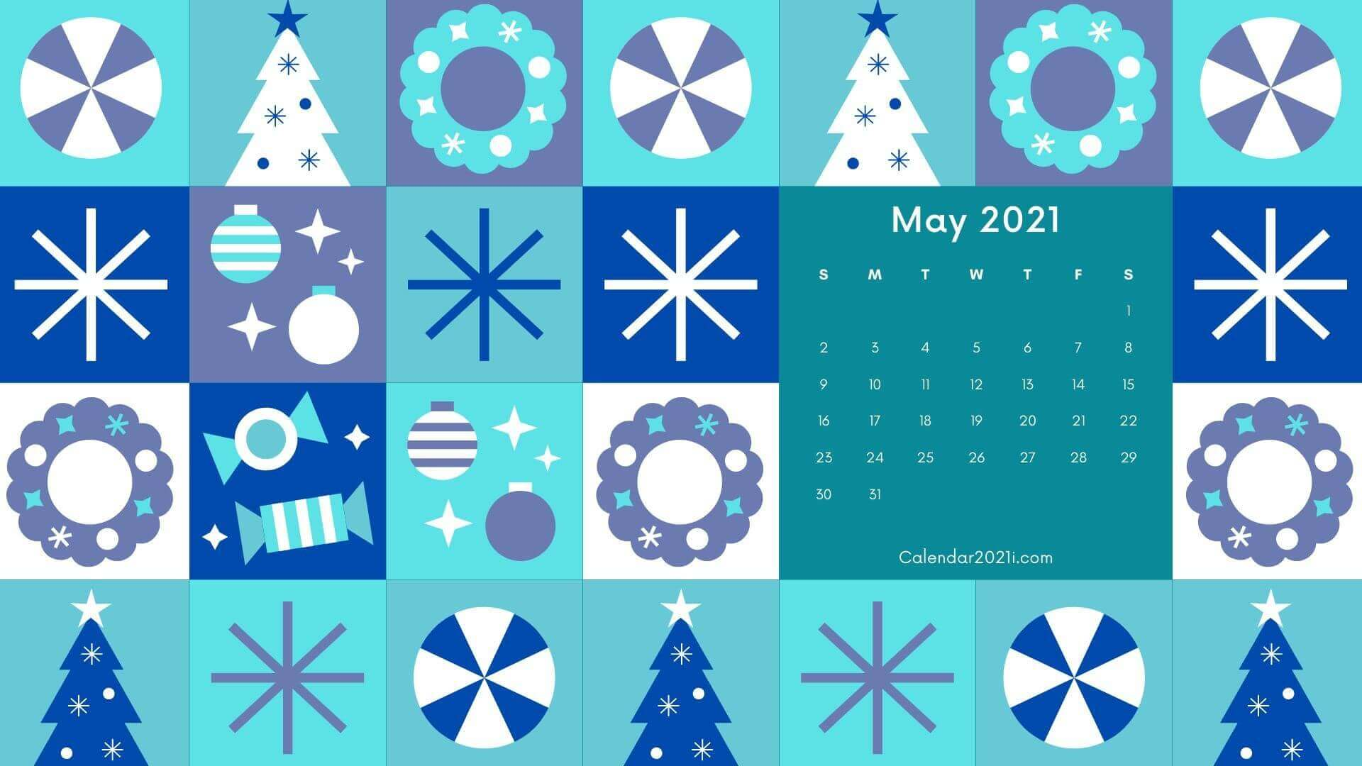 May 2021 Calendar Wallpaper For Laptop